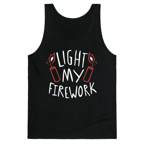 Light My Firework Tank Top