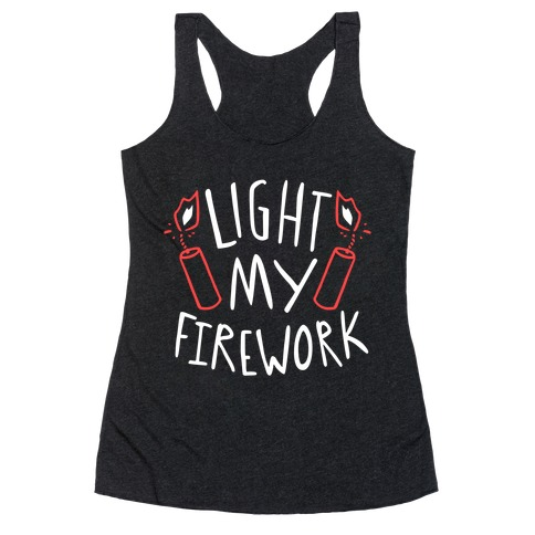 Light My Firework Racerback Tank Top