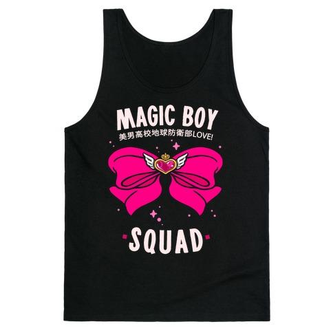Magic Boy Squad (Pink) Tank Top