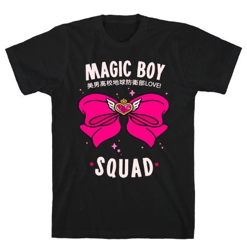 Magic Boy Squad (Pink) T-Shirt