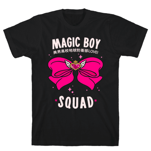 Magic Boy Squad (Pink) Mens T-Shirt