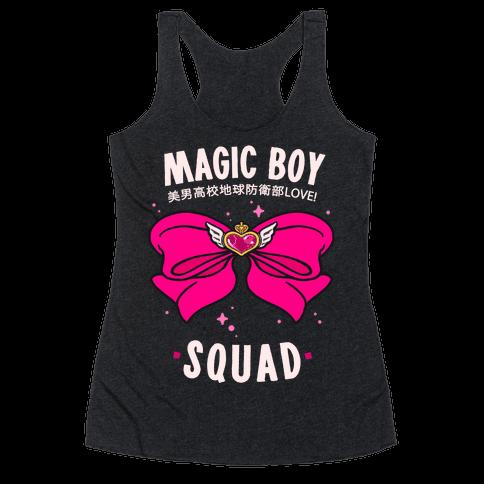 Magic Boy Squad (Pink) Racerback Tank Top