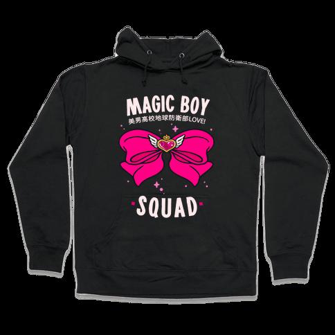 Magic Boy Squad (Pink) Hooded Sweatshirt