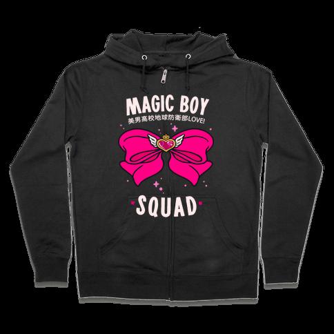 Magic Boy Squad (Pink) Zip Hoodie