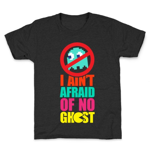 I Ain't Afraid Of No Ghost (tank) Kids T-Shirt