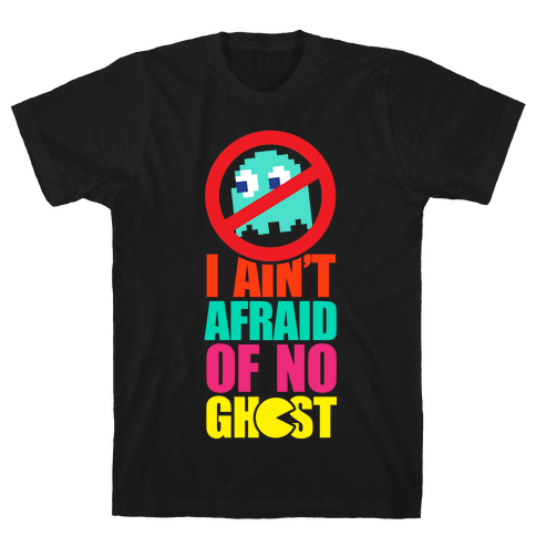 I Ain't Afraid Of No Ghost (tank) Mens T-Shirt