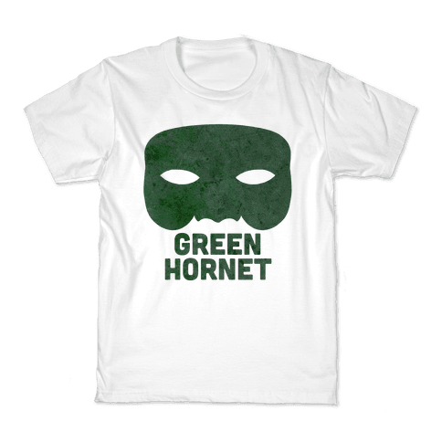 Green Hornet (Paired) Kids T-Shirt