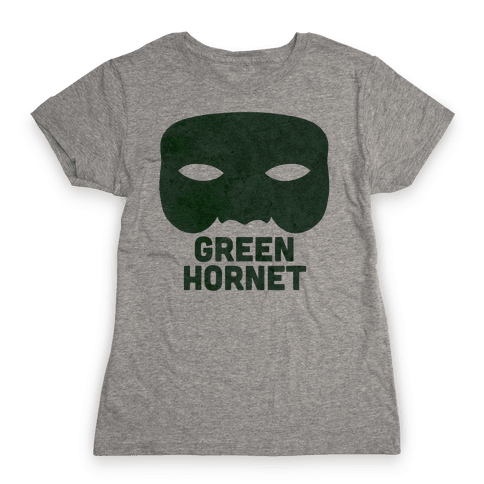 Green Hornet (Paired) Womens T-Shirt
