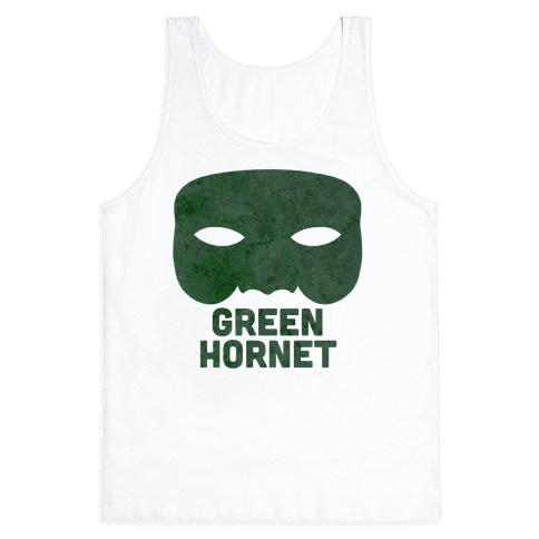 Green Hornet (Paired) Tank Top