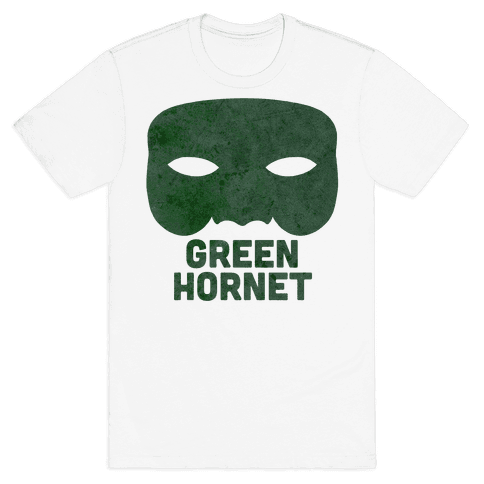 Green Hornet (Paired) Mens T-Shirt