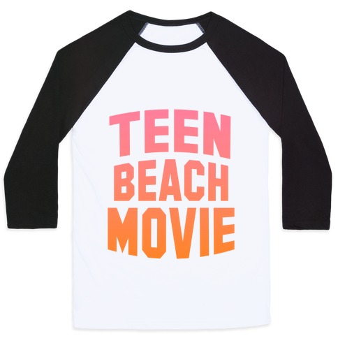 Teen Beach Movie Baseball Tee