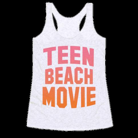 Teen Beach Movie Racerback Tank Top