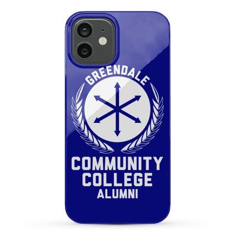 Greendale Community College Alumni Phone Case
