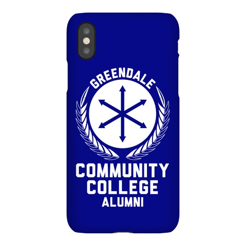 Greendale Community College Alumni Phone Case