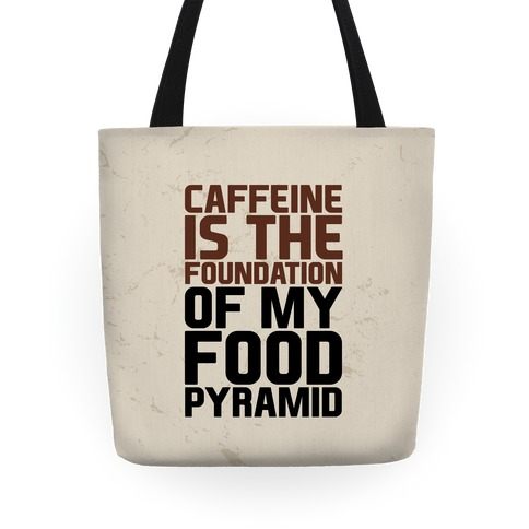 Caffeine Foundation Tote