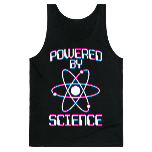 Powered By Science Tank Top