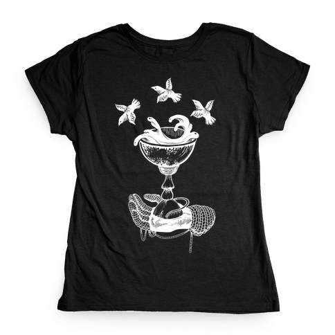 Ace Of Cups Womens T-Shirt