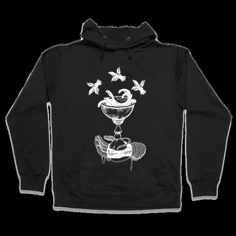 Ace Of Cups Hooded Sweatshirt
