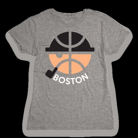 Boston Ball Womens T-Shirt