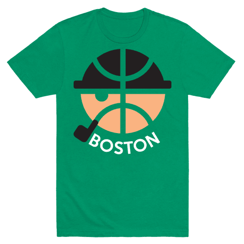 Boston Ball Mens T-Shirt