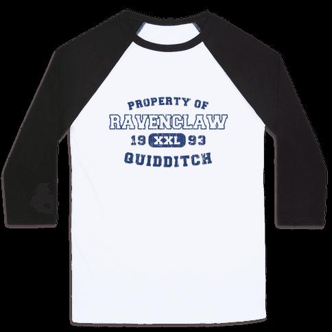 Ravenclaw Quidditch Athletics  Baseball Tee