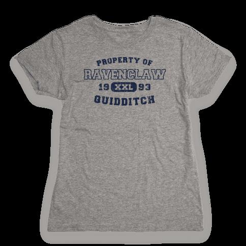 Ravenclaw Quidditch Athletics  Womens T-Shirt
