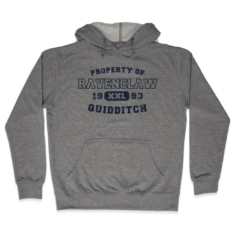 Ravenclaw Quidditch Athletics  Hooded Sweatshirt