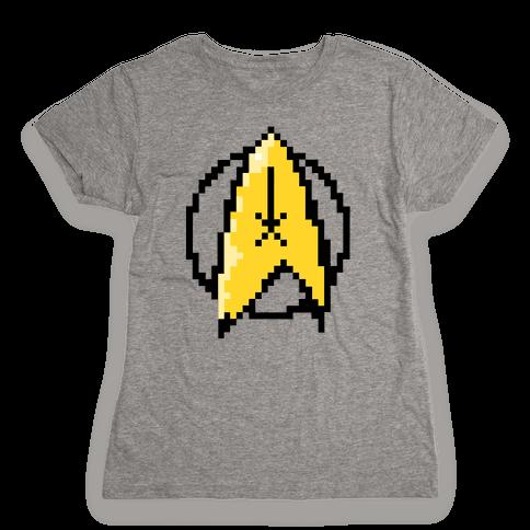 Star Trek 8-Bit Womens T-Shirt