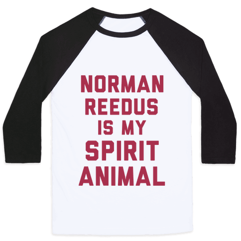 Norman Reedus Is My Spirit Animal Baseball Tee