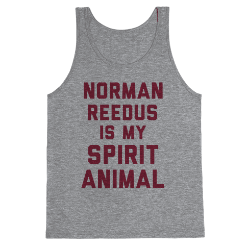 Norman Reedus Is My Spirit Animal Tank Top