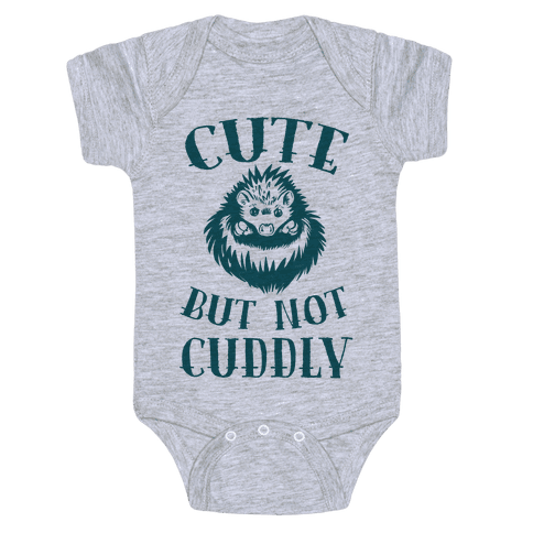 Cute But Not Cuddly Baby Onesy