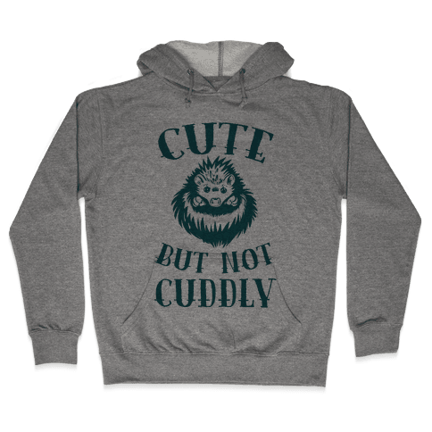 Cute But Not Cuddly Hooded Sweatshirt