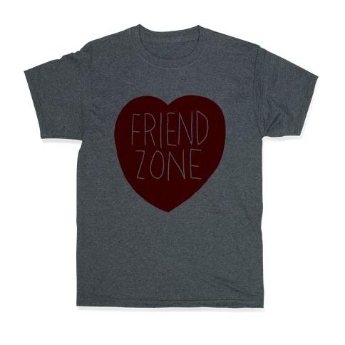Friendzone (Heart) T-Shirt | LookHUMAN