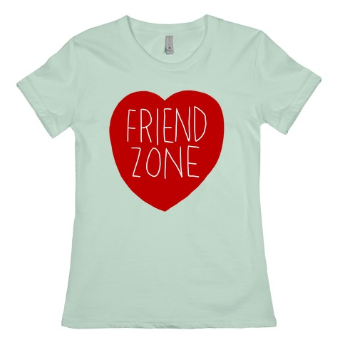 Friendzone (Heart) T-Shirts   LookHUMAN