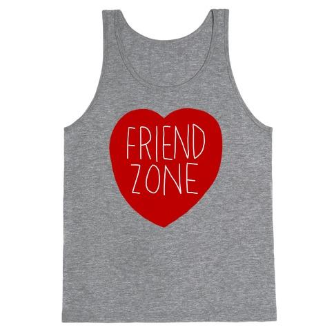 Friendzone (Heart) Tank Top   LookHUMAN
