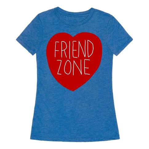 Friendzone (Heart) T-Shirt   LookHUMAN