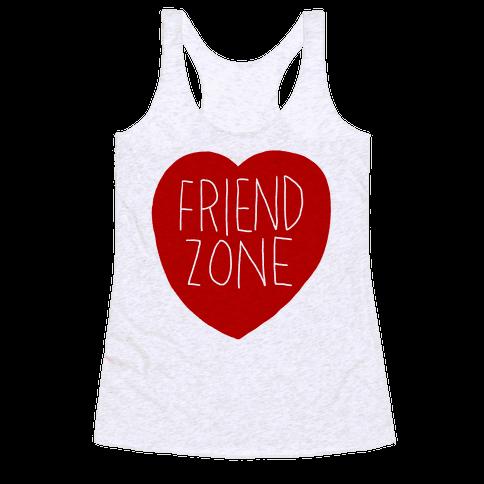 Friendzone (Heart) - Racerback Tank Tops - HUMAN