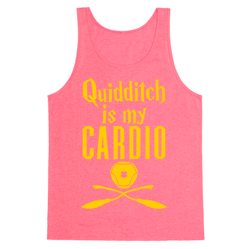 Quidditch Is My Cardio Tank Top