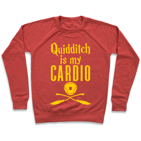 Quidditch Is My Cardio Pullover