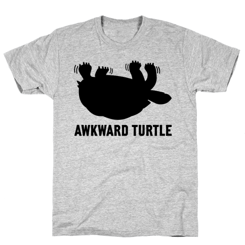 Awkward Turtle (Tank) Mens T-Shirt