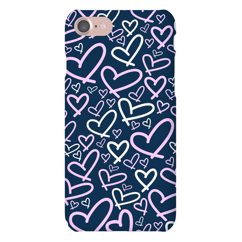 Heart Pattern Phone Case