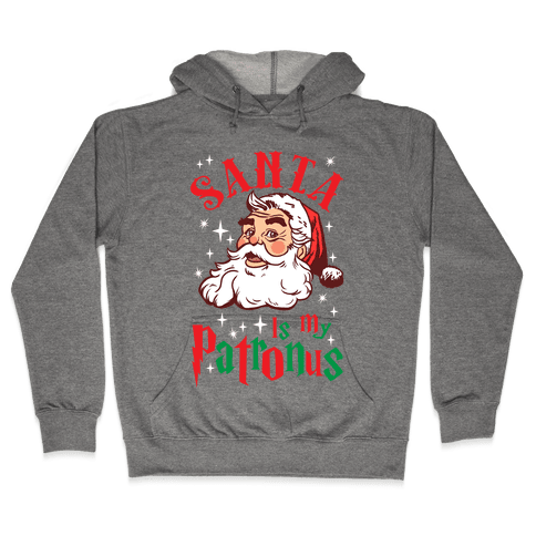 Santa Is My Patronus Hooded Sweatshirt