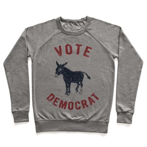 Vote Democrat (Vintage democratic donkey) Pullover