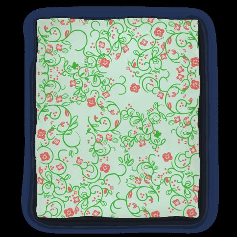 Spring Flora Pattern Blanket