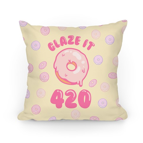 Glaze It 420 Donut Pillow