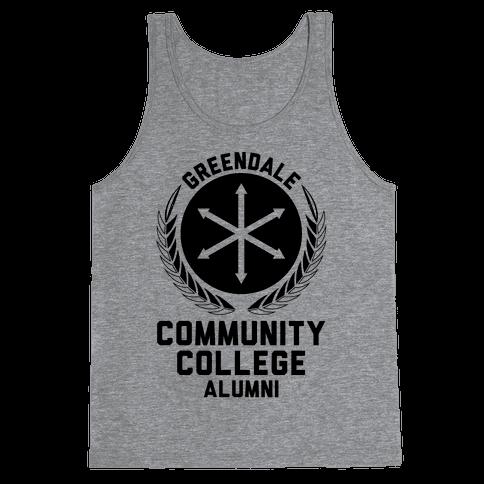 Greendale Community College Alumni Tank Top