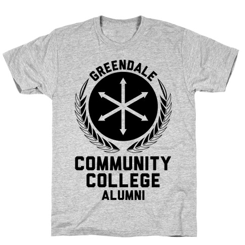Greendale Community College Alumni T-Shirt