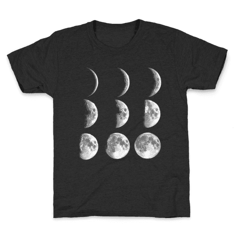 Moon Phases Kids T-Shirt