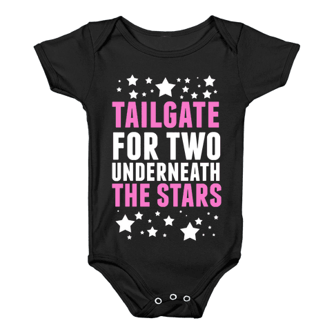 Tailgate for Two Baby Onesy