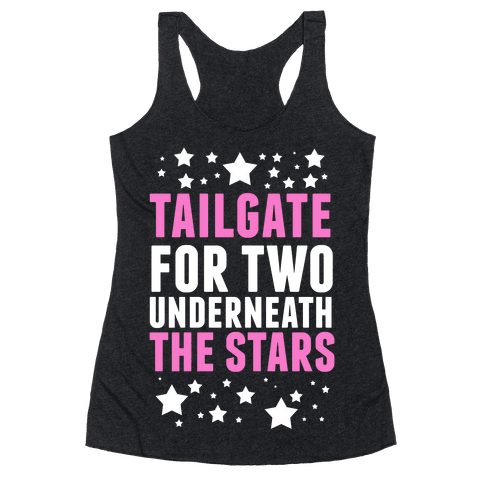 Tailgate for Two Racerback Tank Top